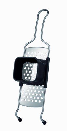 RÖSLE Spätzlehobel, Hochwertiger Spätzlehobel mit Trichteraufsatz aus Kunststoff, Edelstahl...