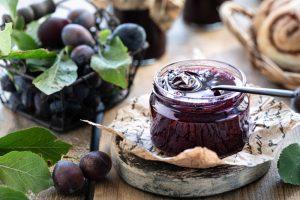 Marmelade abfüllen
