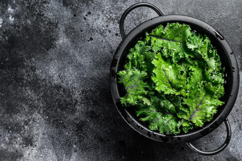 Wie bereitet man Grünkohl zu?