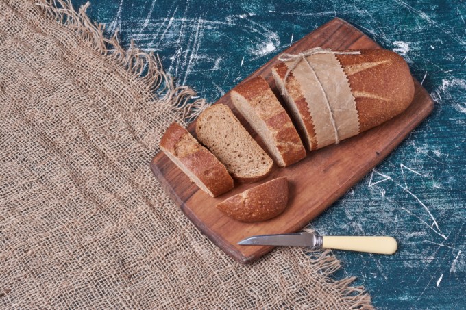 Gefrierbrand bei Brot