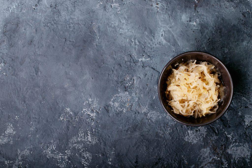 Sauerkraut milder machen