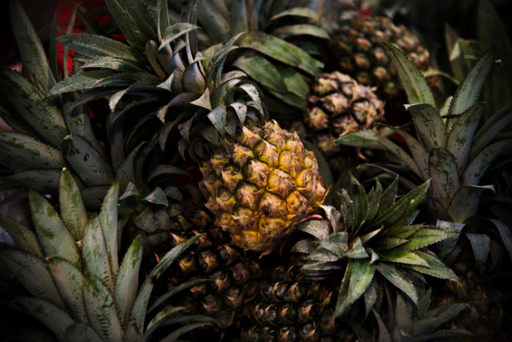 Reife Ananas einfrieren