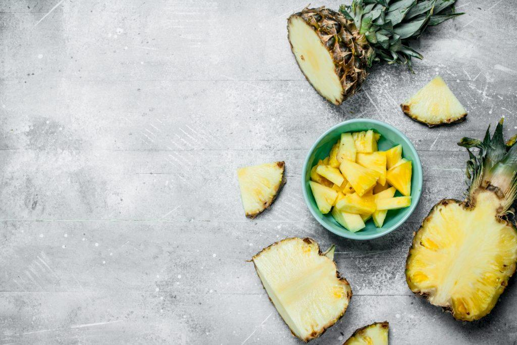 Ananas auftauen nach einfrieren