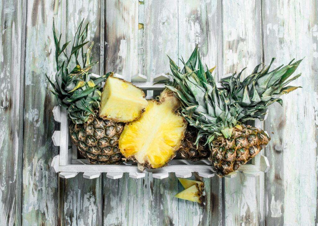 Ananas Bromelanin einfrieren