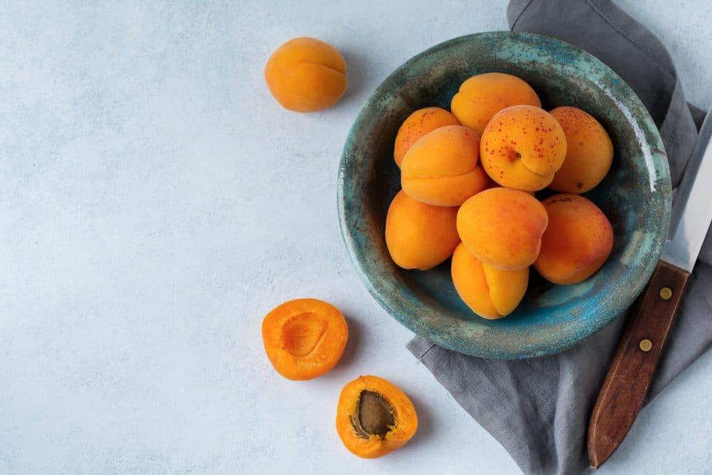 Kann man Aprikosen einfrieren?
