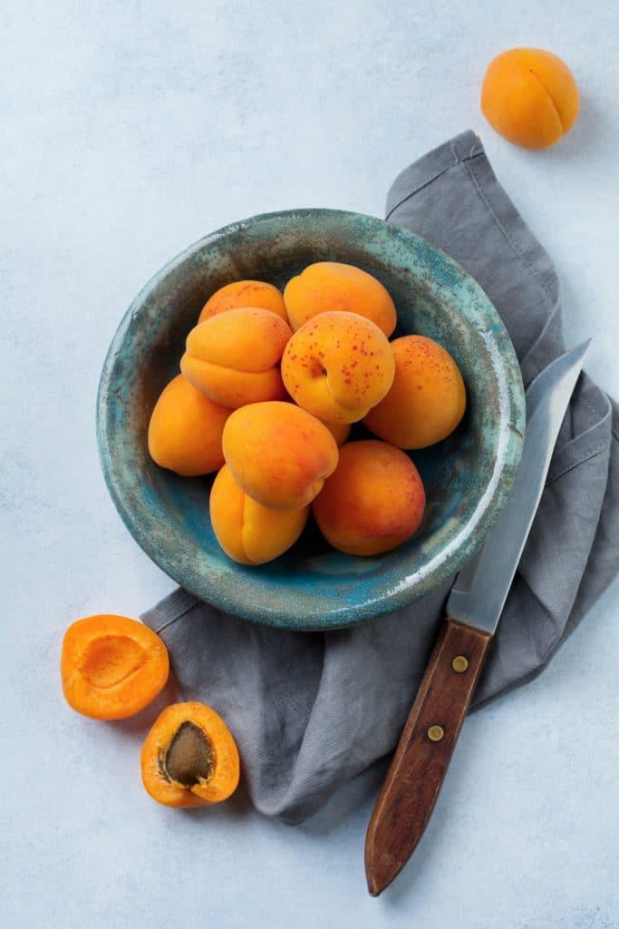 Wann sollte man Aprikosen einfrieren?