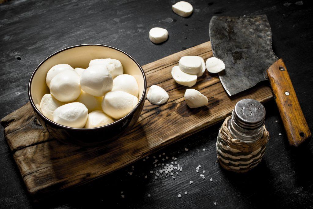 Frischen Mozzarella einfrieren