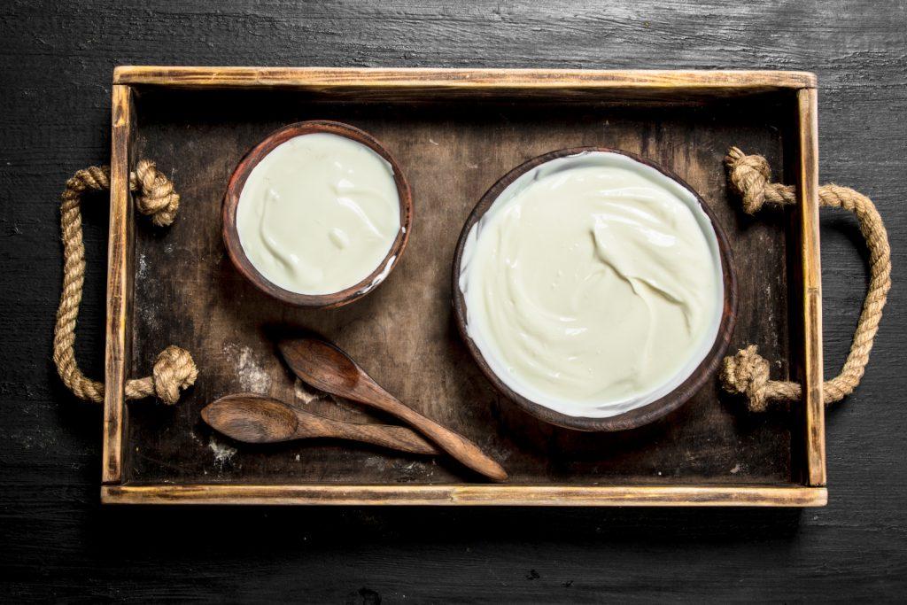 Tötet Joghurt einfrieren das natürliche Probiotika ab