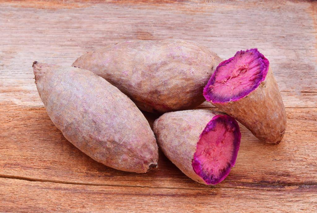 Welche Süßkartoffel Sorten kann man roh essen?