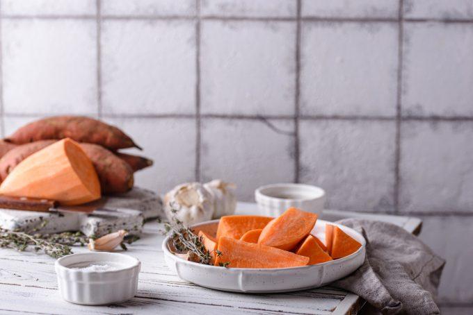 Kann man Süßkartoffeln einfrieren?
