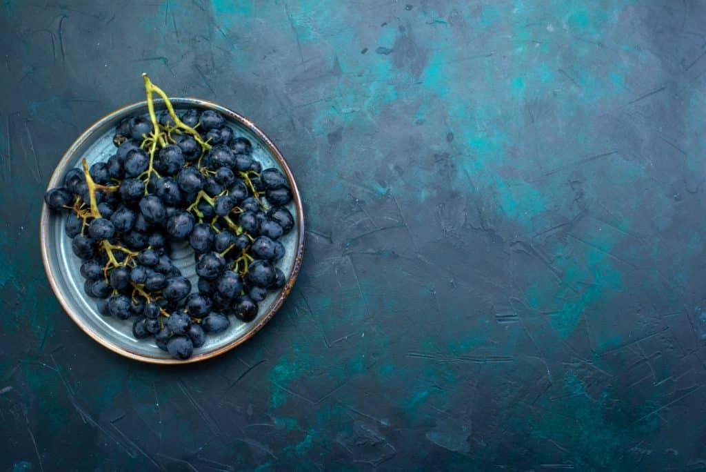 Wie gut lassen sich Weintrauben einfrieren?