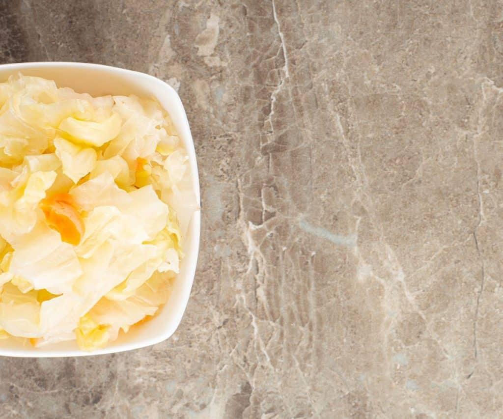 Wie lagert man Sauerkraut