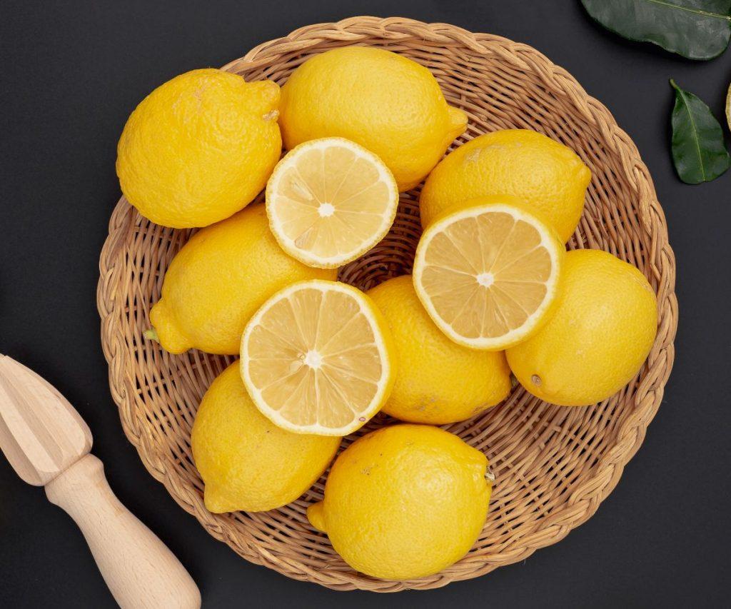 Wie sollte man Zitronen lagern