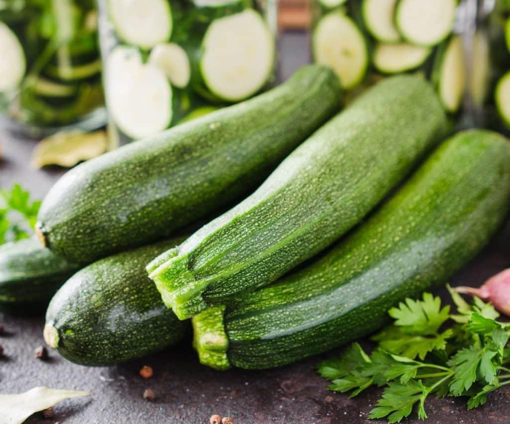 Woran erkennt man schlechte Zucchini