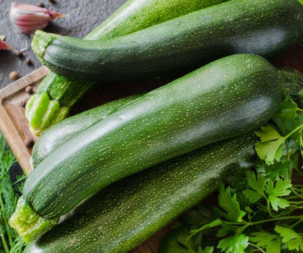 Woran erkennt man frische Zucchini