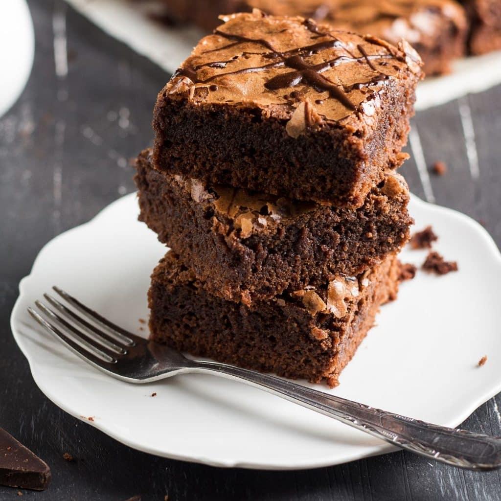 Backpulver in Brownies vergessen