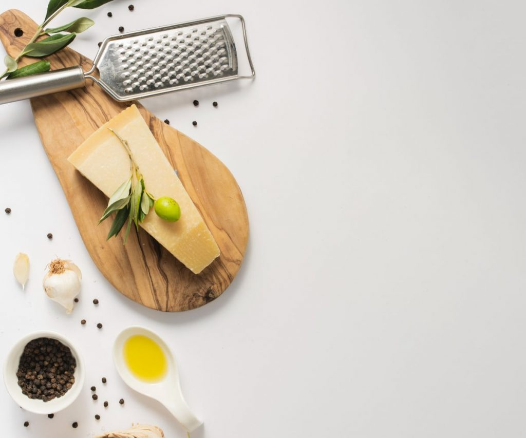 Wie kann man Parmesan einfrieren