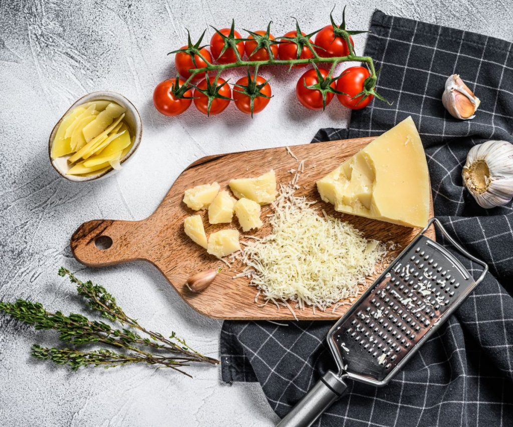Kann man Parmesan einfrieren?