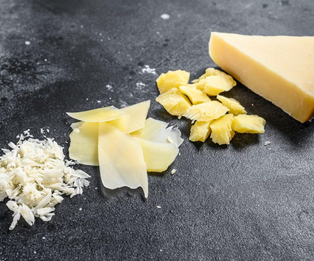 Wie kann man Parmesan auftauen