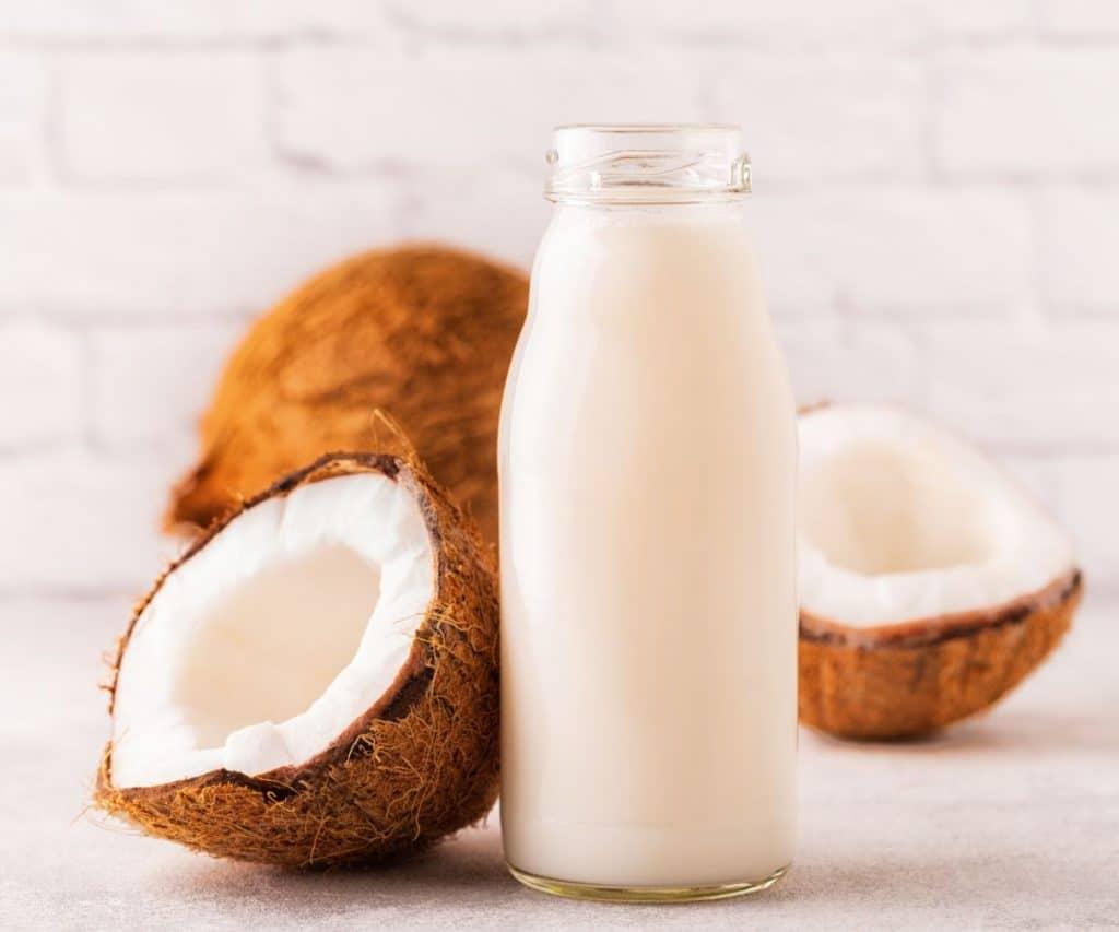 Wie lange ist gefrorene Kokosmilch haltbar?