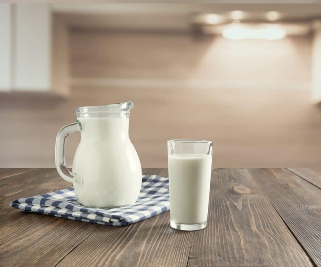 Milch statt Sahne beim Kochen und Backen
