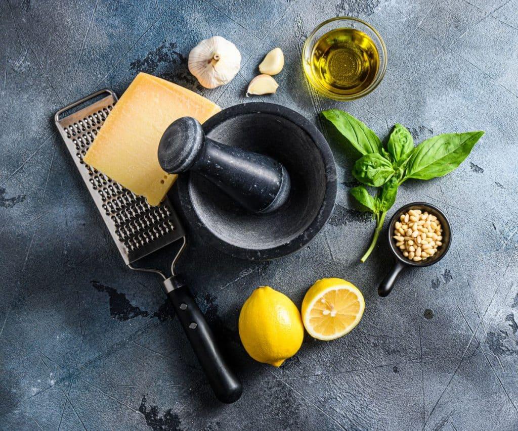 Wie friert man Pesto ein?