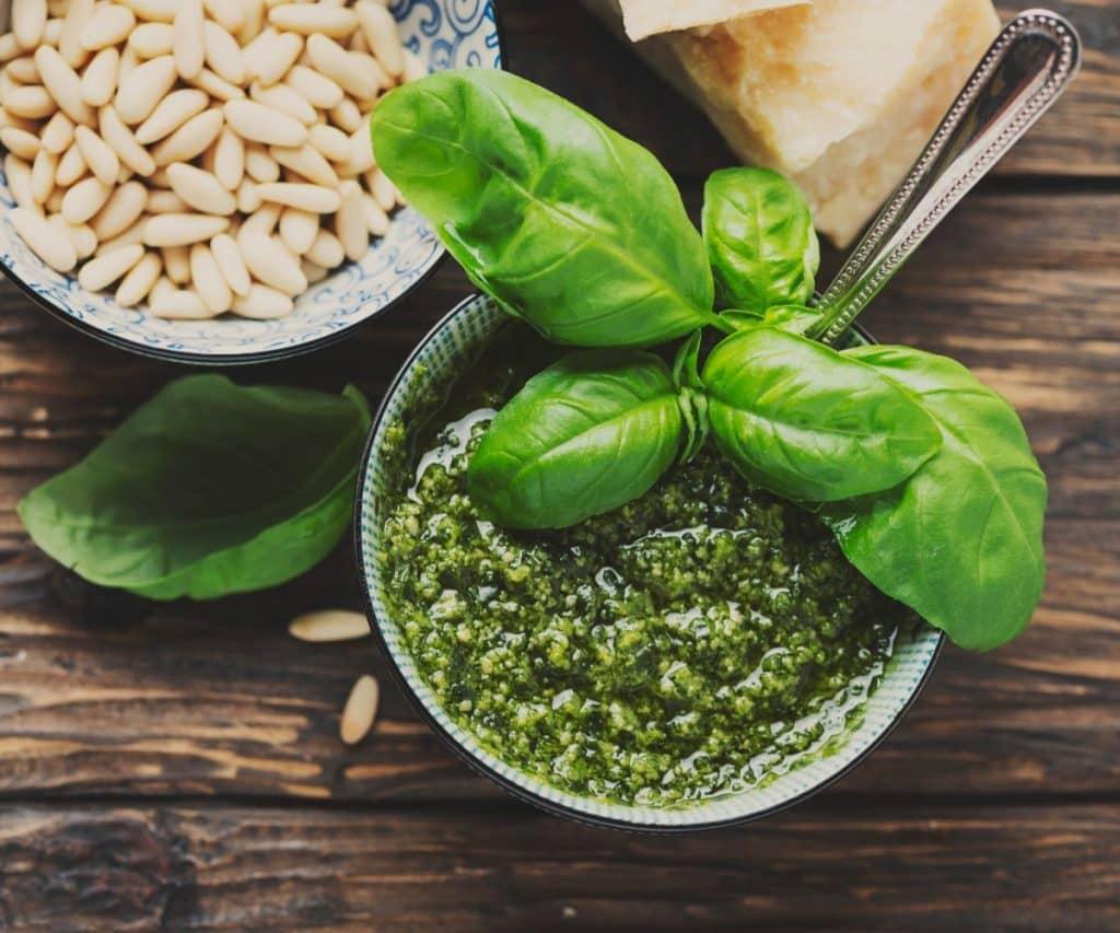Mixer für Pesto