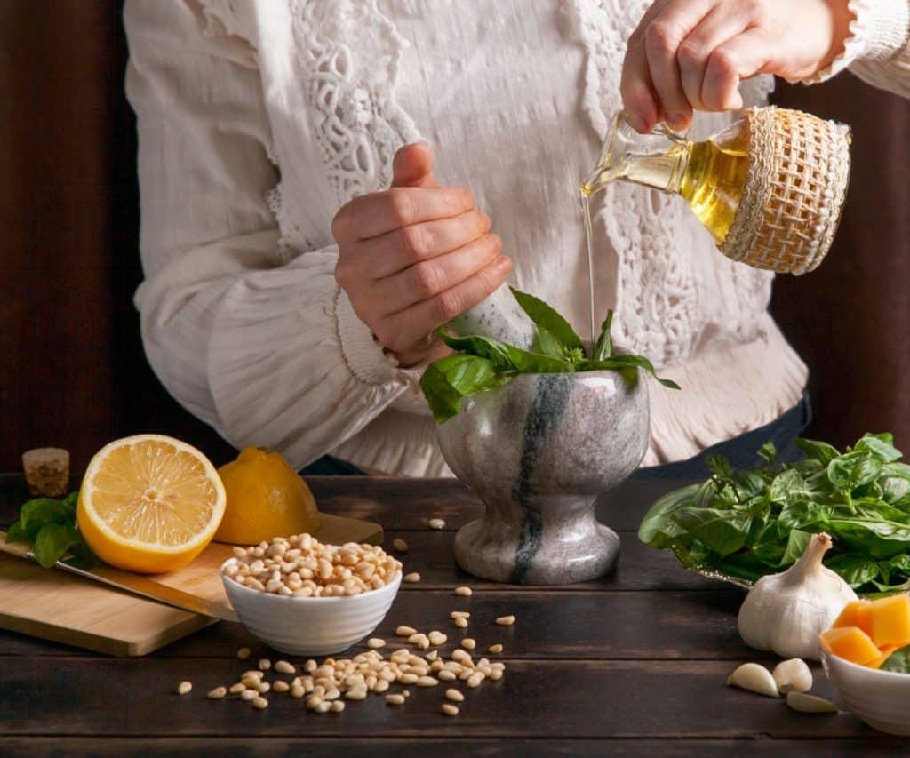 Welches Pesto kann man einfrieren? Eignen sich alle Sorten?